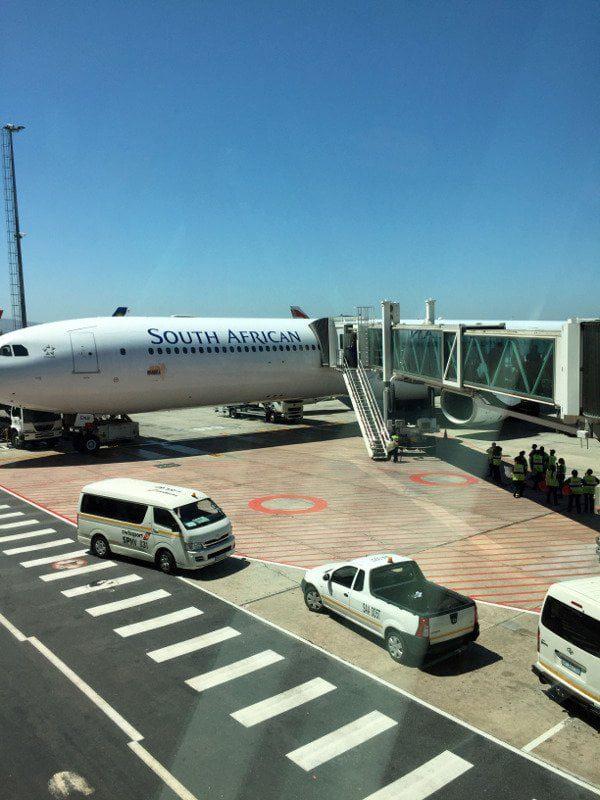 lotnisko w Johanesburgu