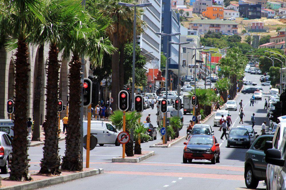 ulica w Kapsztadzie
