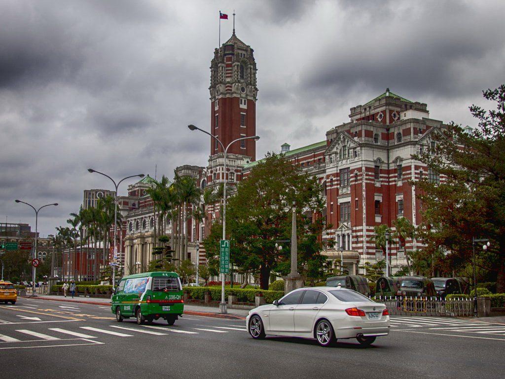 pałac prezydencki w Taipei