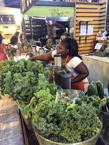 Food Market w Kapsztad