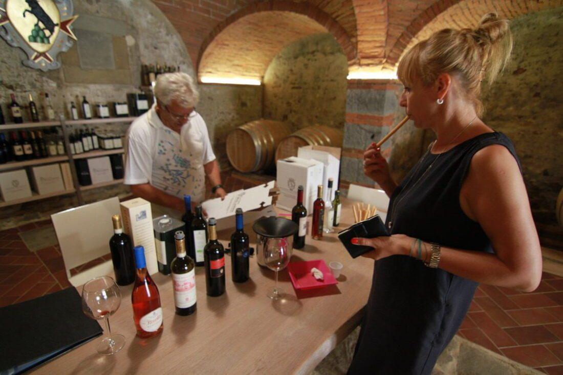 winnica montozzi we włoszech, toskania