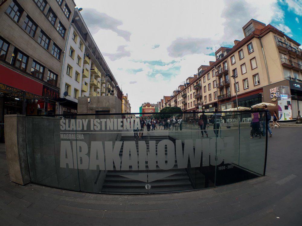 ulica we Wrocławiu