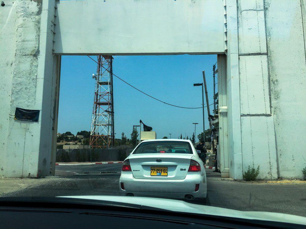 banksy izrael