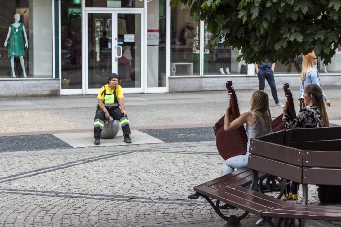 artyści uliczni we Wrocławiu