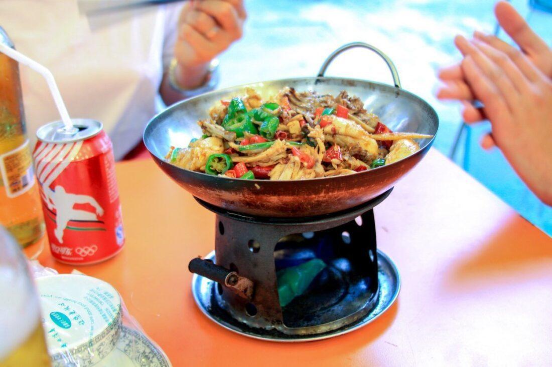 street food w Shanghaju