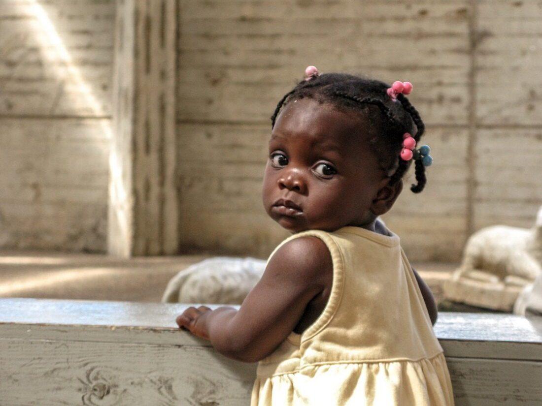 dziewczynka na Dominikanie