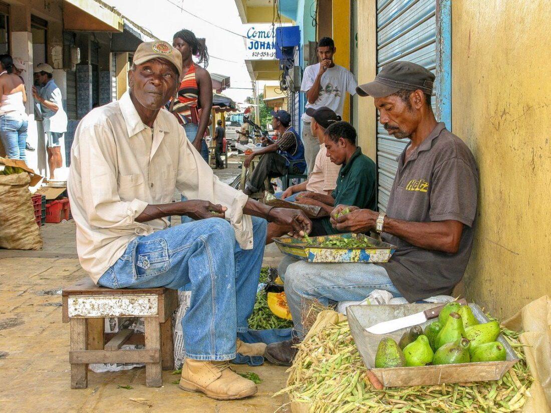 bazar na Dominikanie