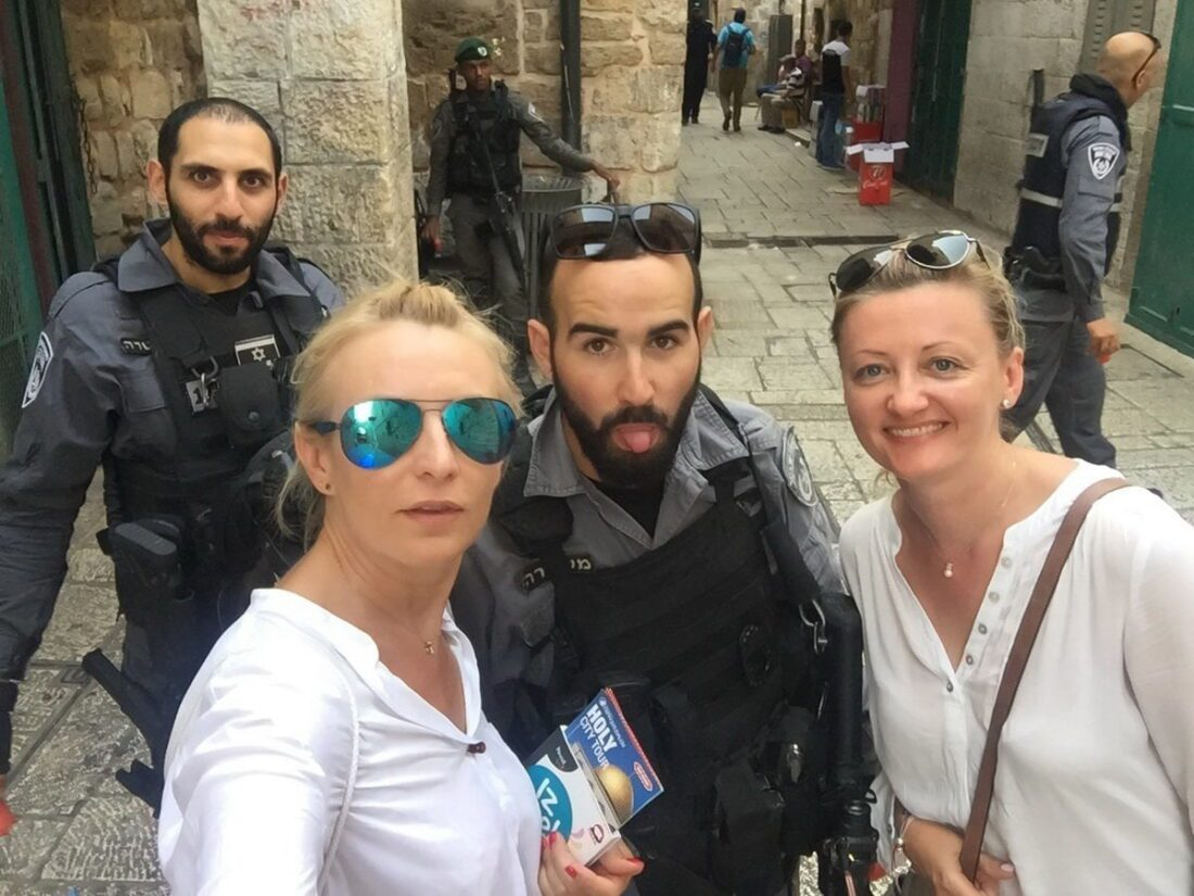 policjanci w Izraelu