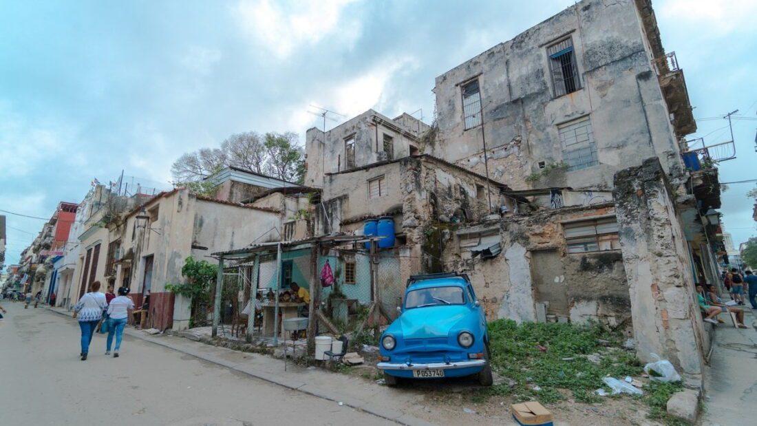 budynki w Hawanie