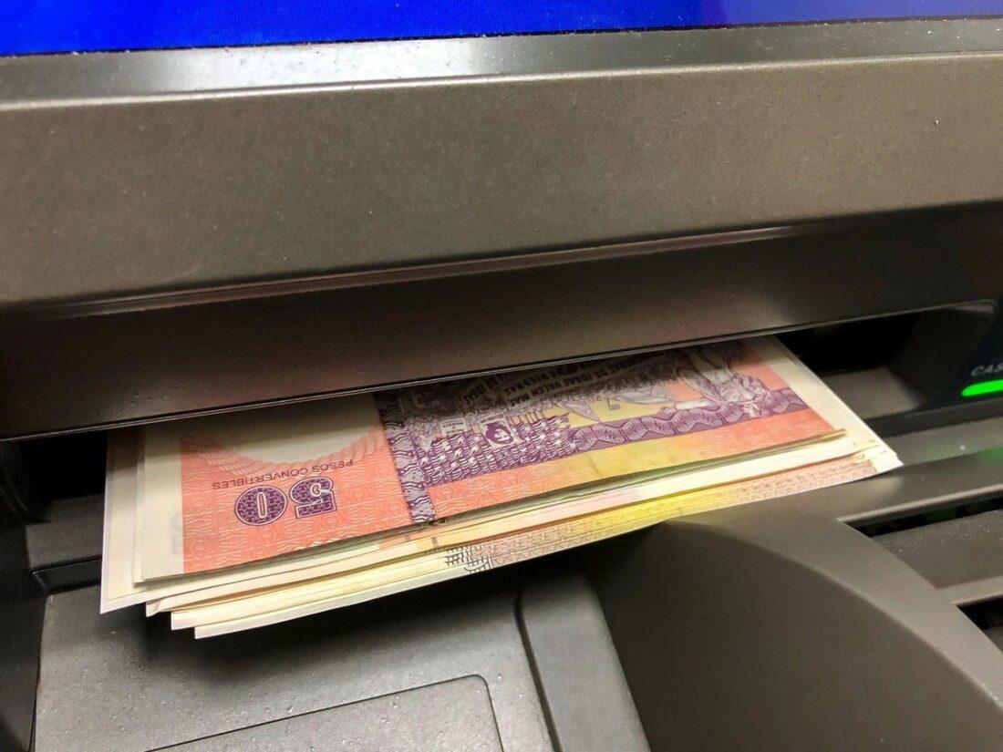 bankomat w Hawanie