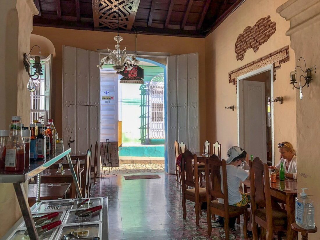 restauracja w Trynidad