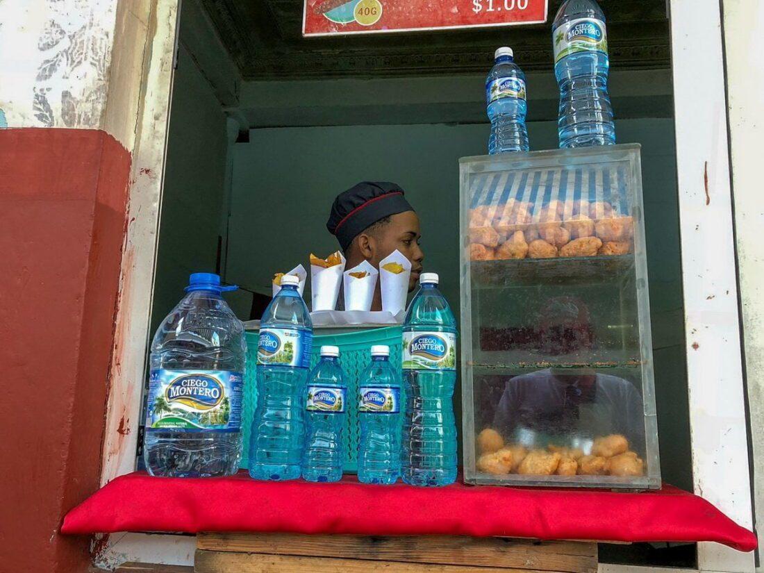 street food na Kubie