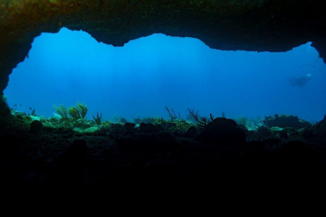 podwodna jaskinia na Kubie
