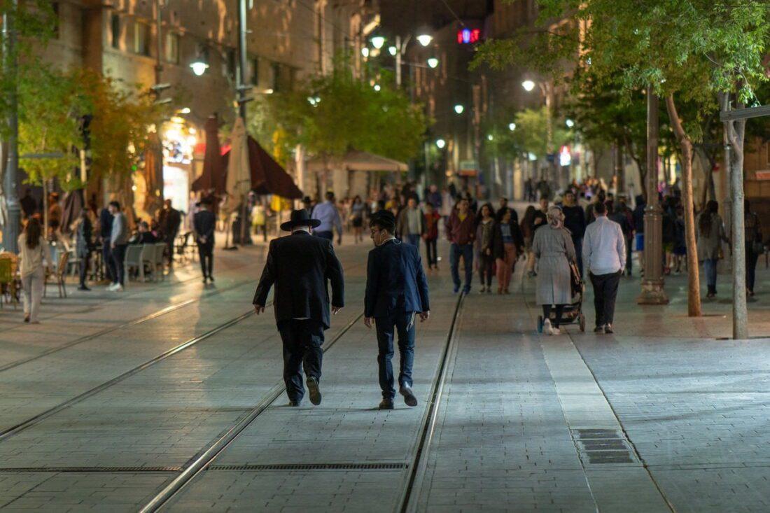 jaffa street w jerozolimie