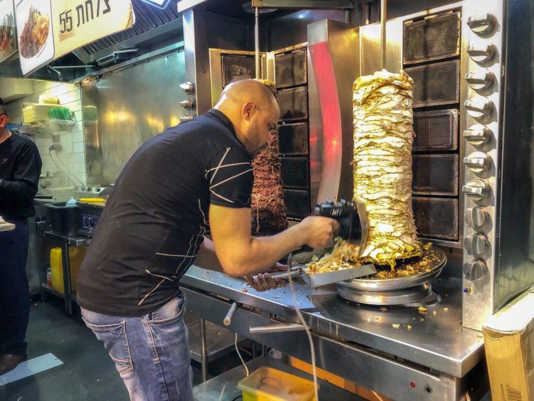 kebab w jerozolimie