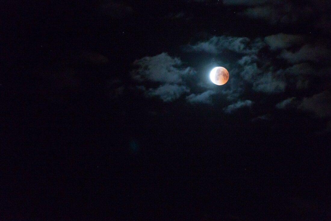 najdłuższe zaćmienie księżyca