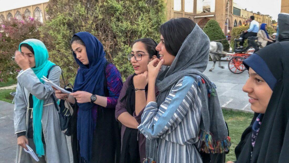 irańskie kobiety w shirazie