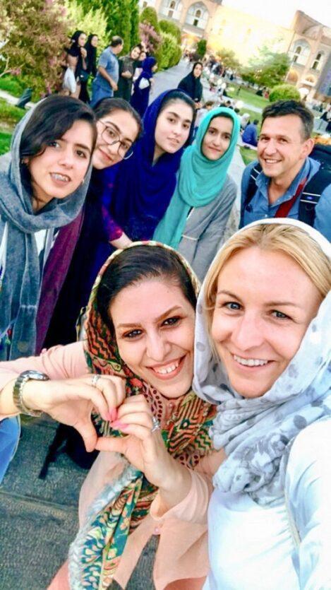 kobiety irańskie w shirazie