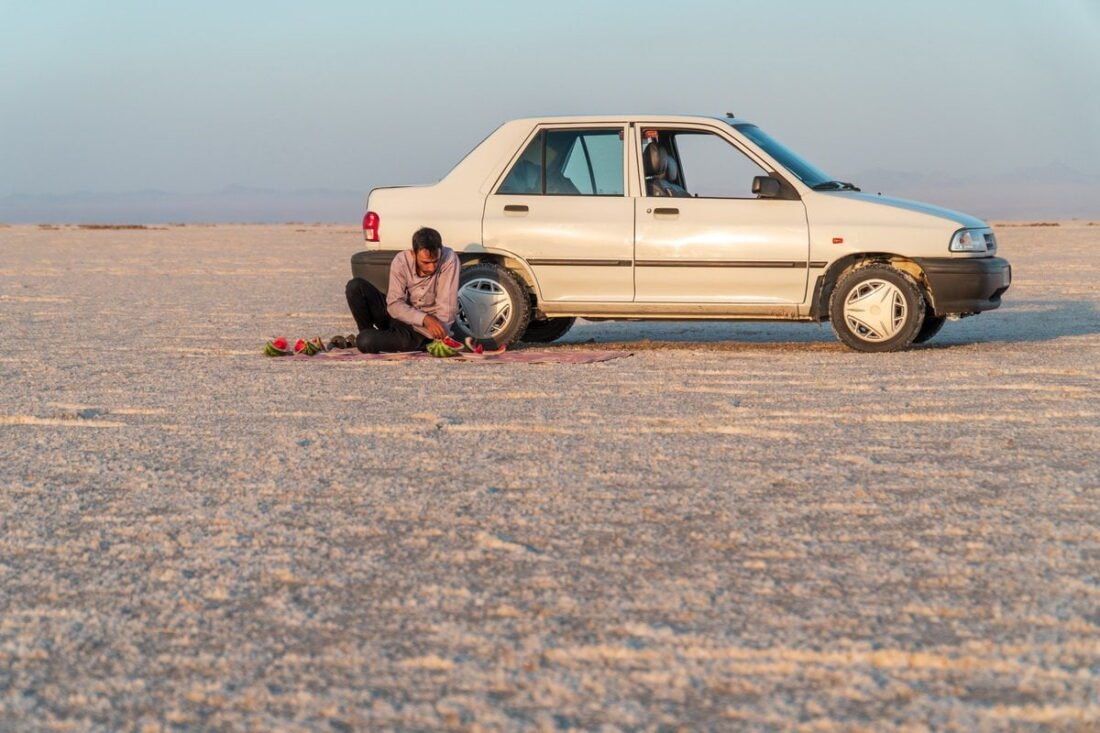 pustynia solna w iranie
