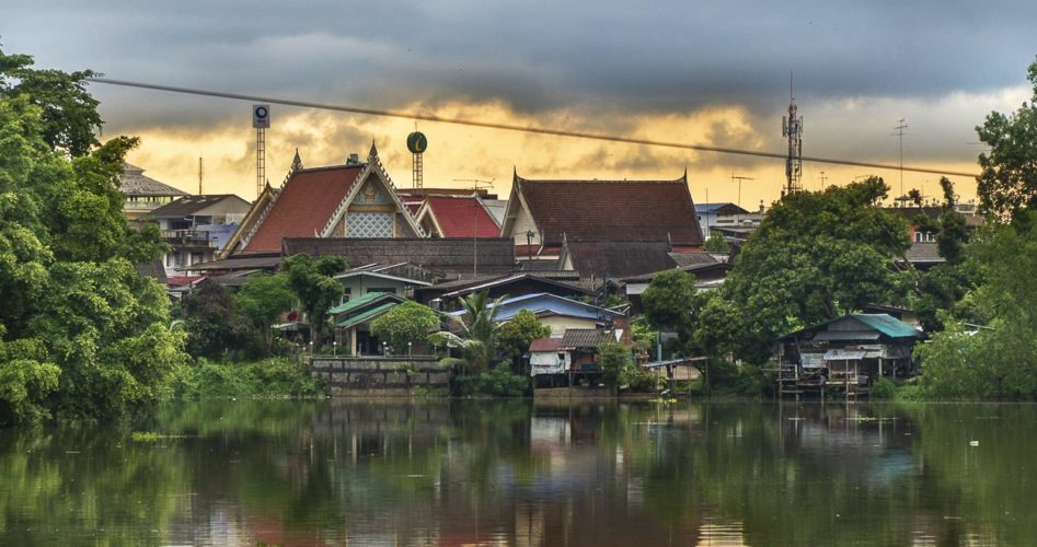 chanthaburi w tajlandii