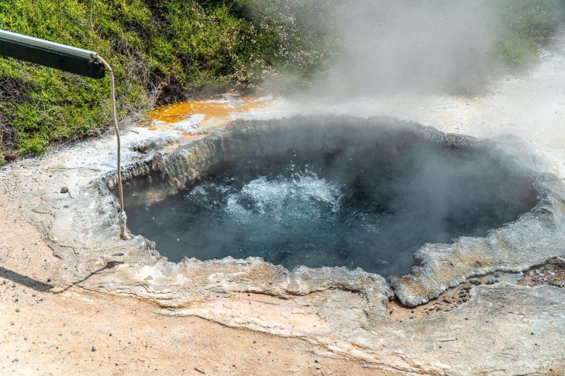 geotermalna stolica Nowej Zelandii