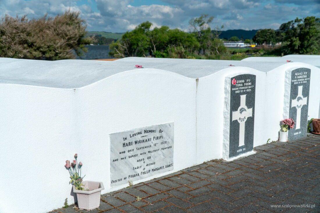 cmentarz żołnierzy maoryskich