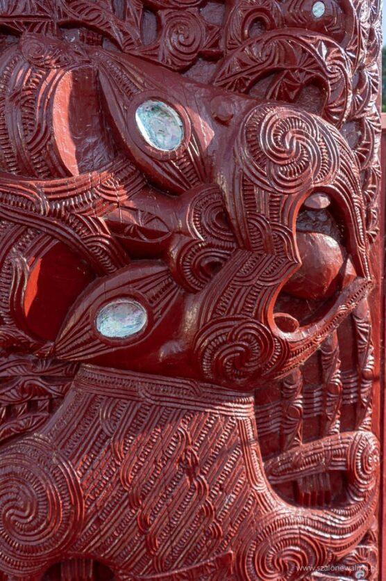 Prawdziwa maoryska wioska Ohinemutu