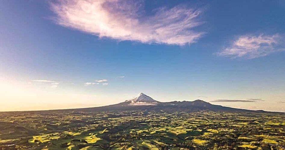 Nowa Zelandia z drona