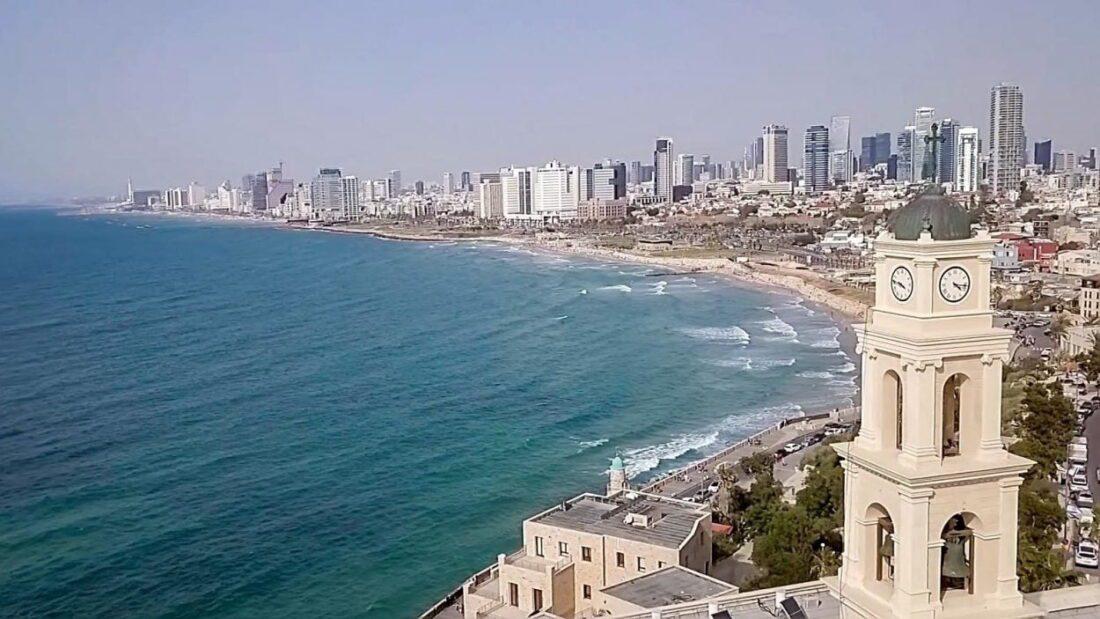 z dronem w izraelu