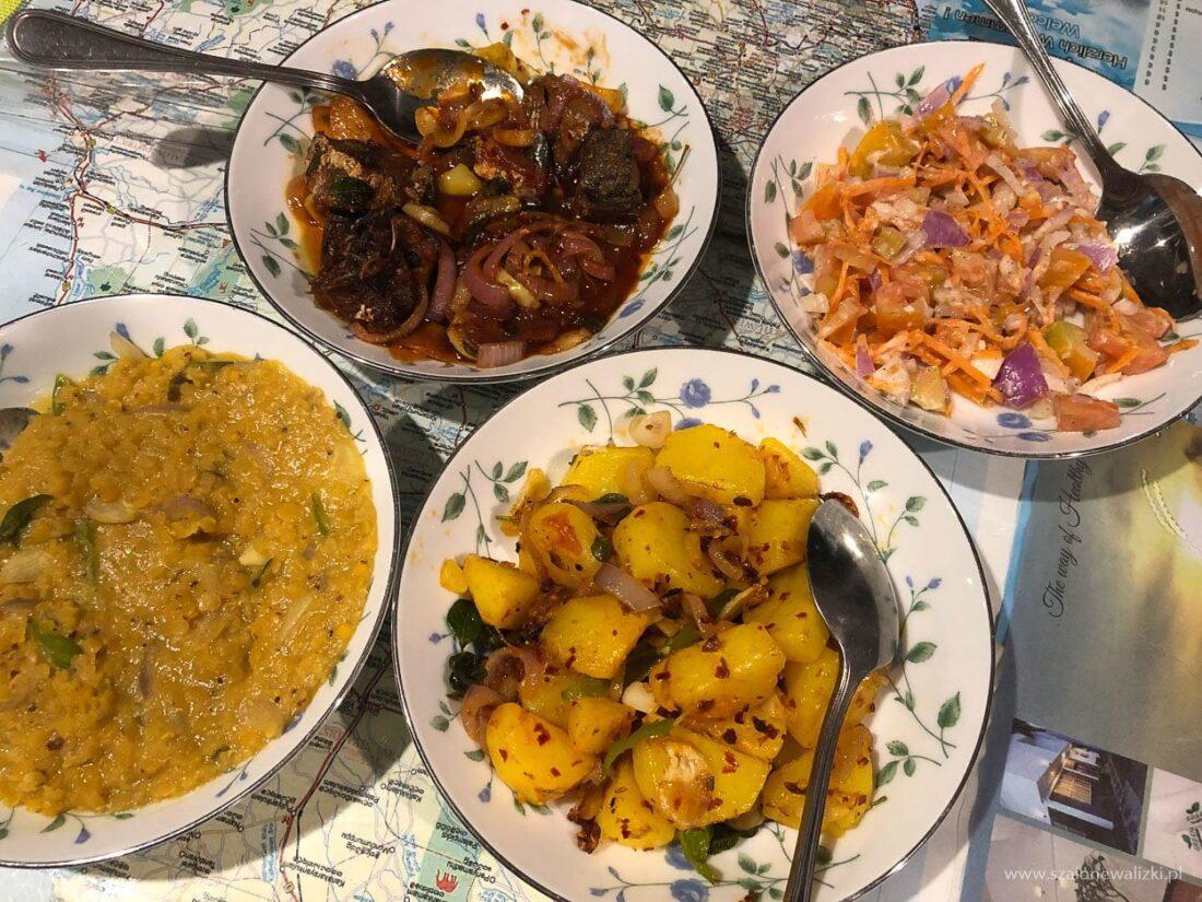 jedzenie lankijskie