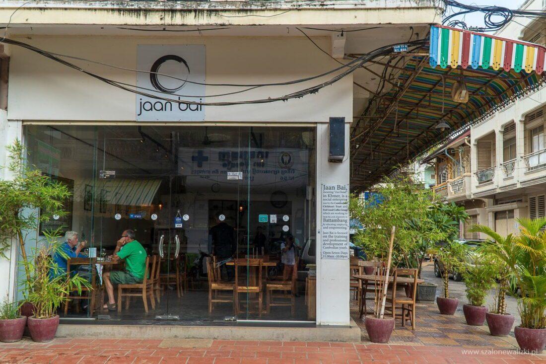 restauracja Jaan Bai w Battambang