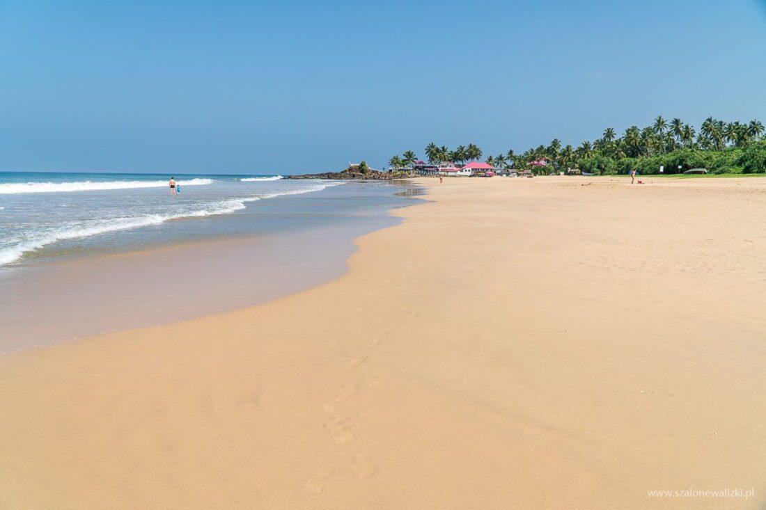 plaża w ahungalla