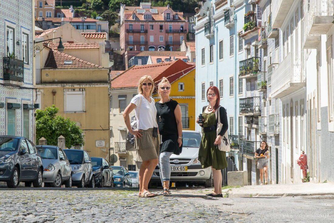 na spacerze po Lizbonie z dziewczynami z Sekretów Lizbony