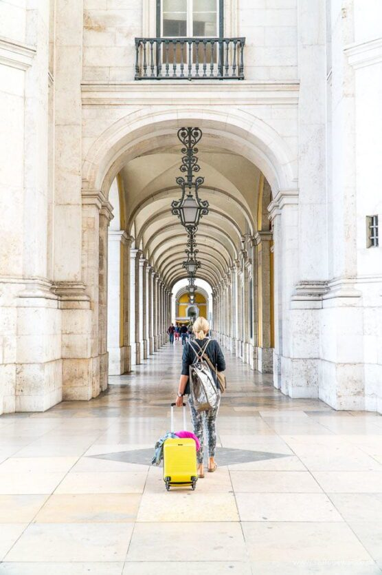 arkady koło praca do comerco w lizbonie