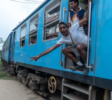 koleją po Sri Lance