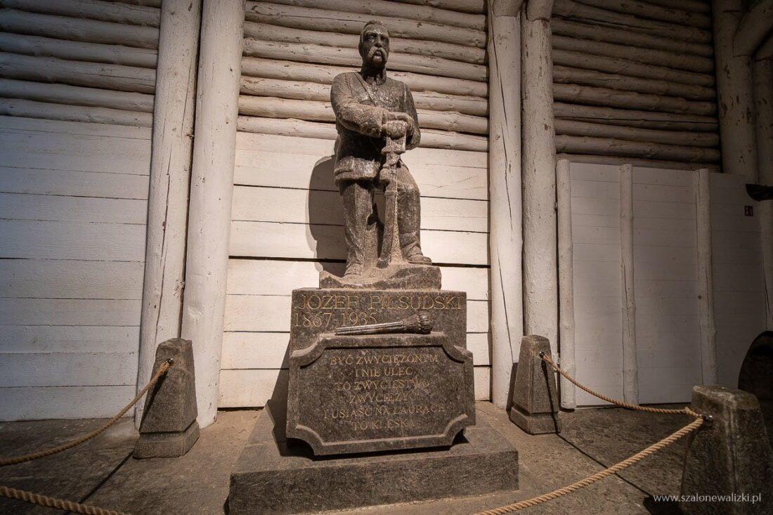 józef piłsudski w wieliczce