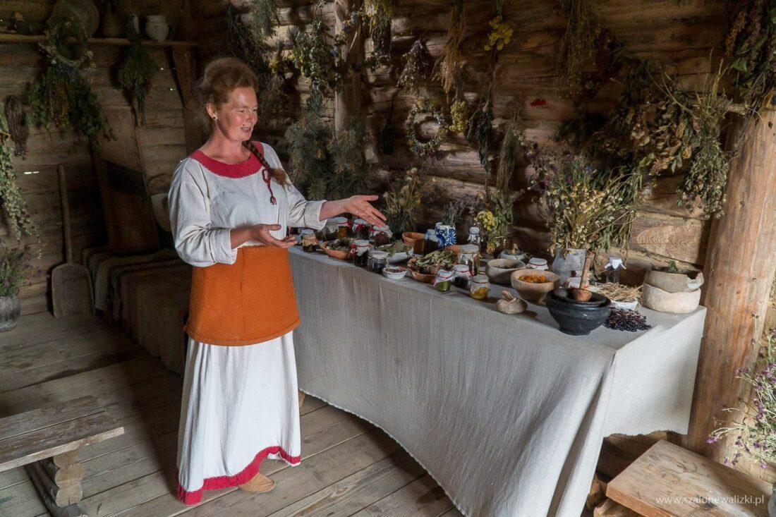 zielarka osada średniowieczna