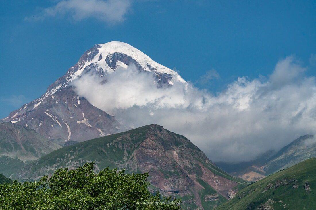 góra kazbek