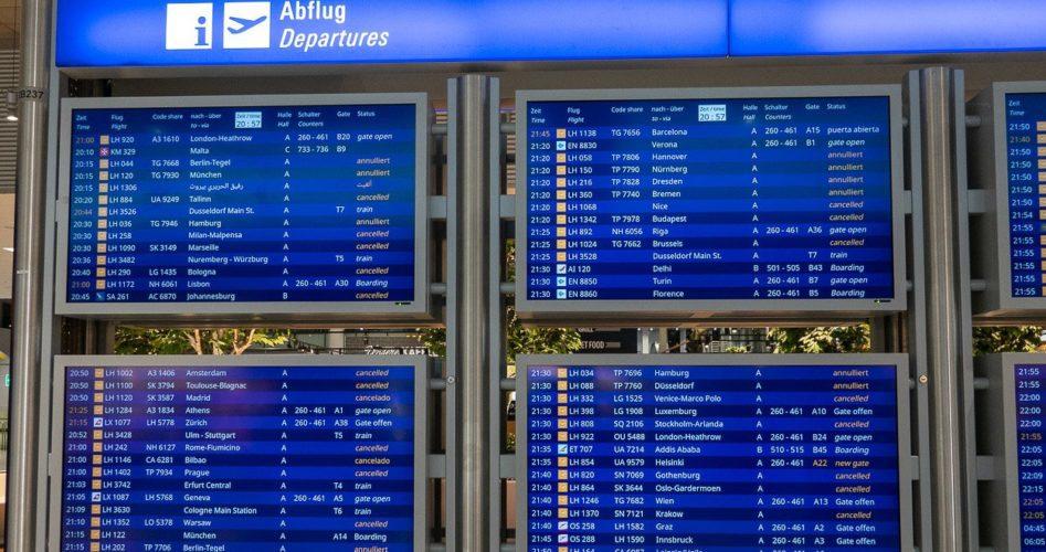 strajk linii lotniczej