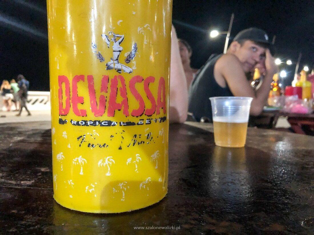lokalne brazylijskie piwo
