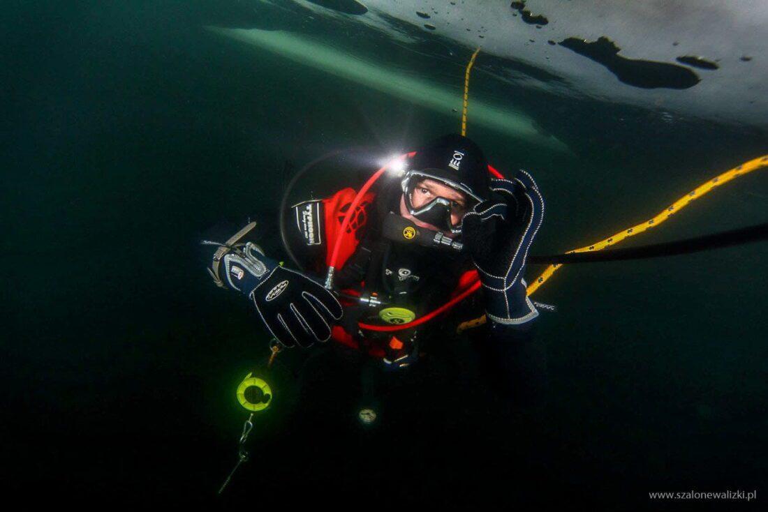 nurkowanie podlodowe