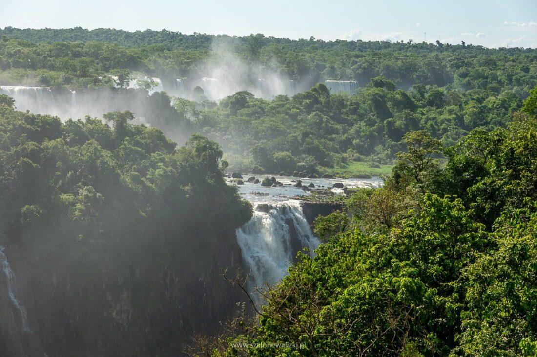 argentyńska strona iguacu falls