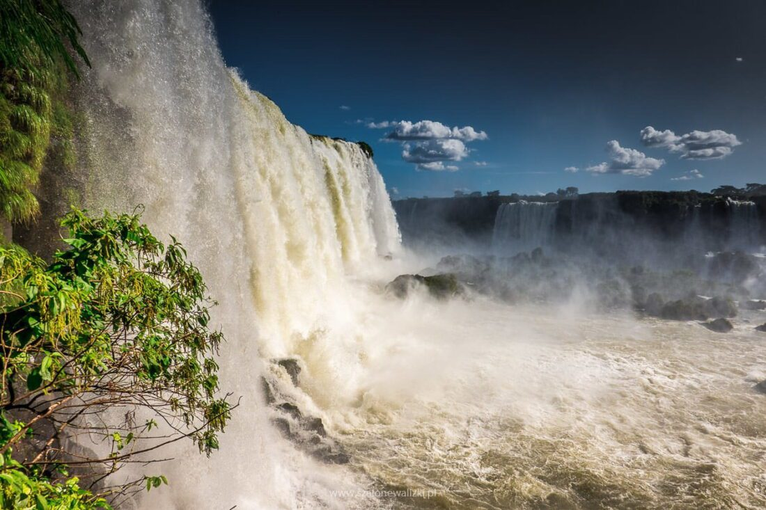 brazylijska strona wodospadów