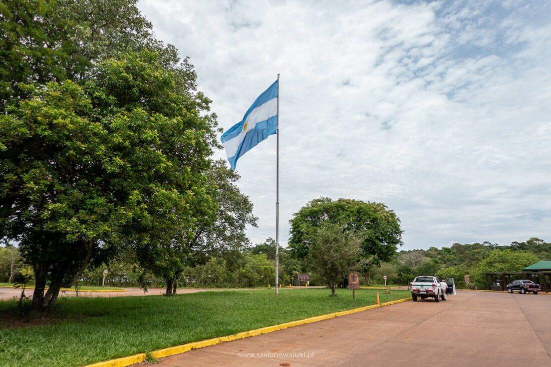 argentyńska strona wodospadu iguazu