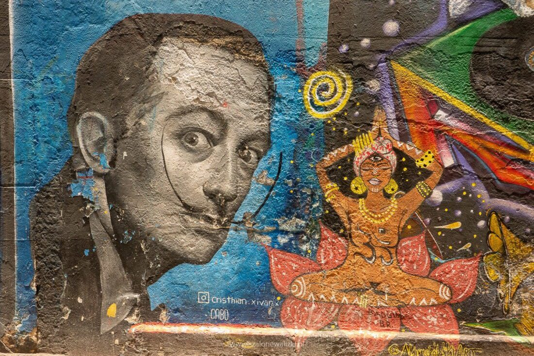 murale obok selaron