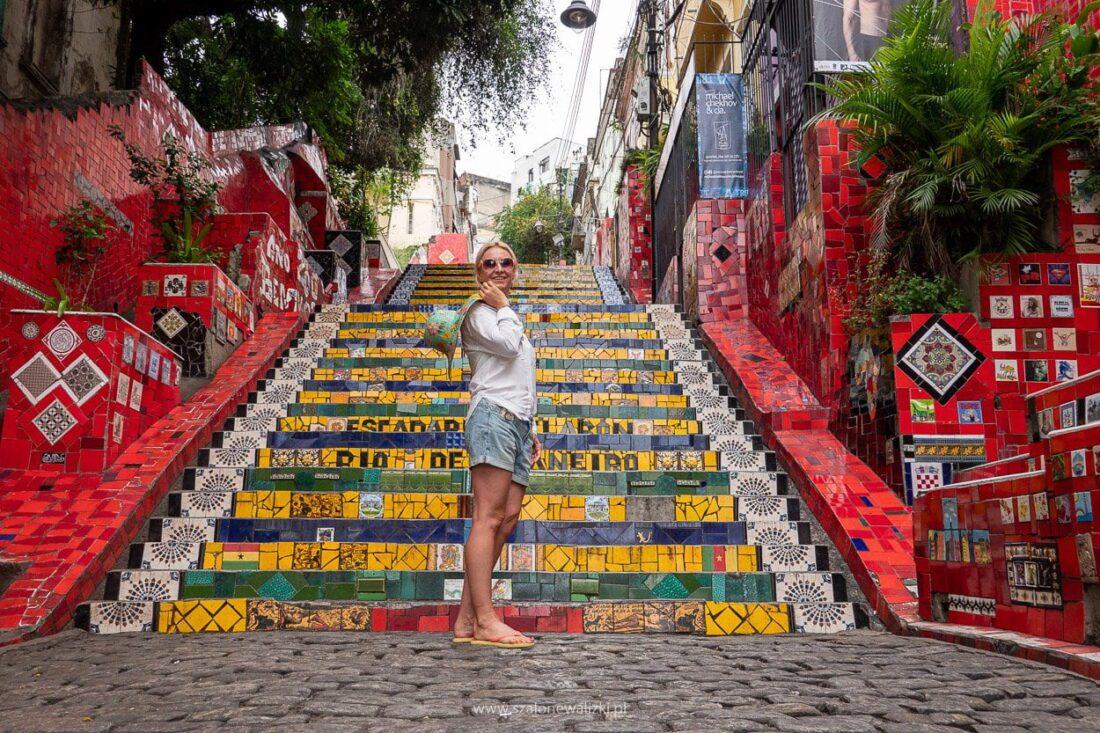 schody selaron w rio