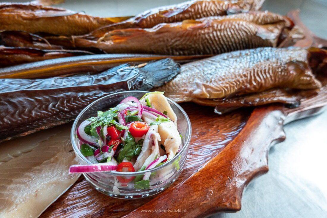 ryby wedzone z kaborna