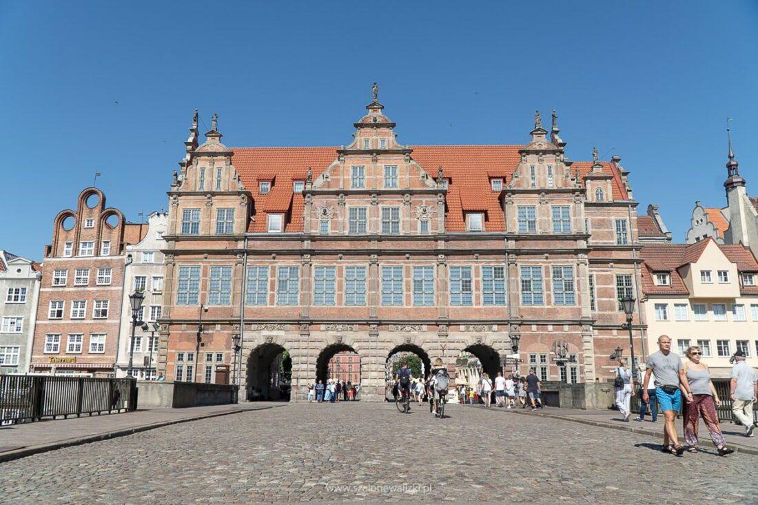 brama zielona gdańsk