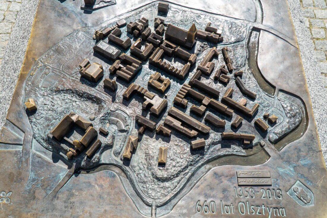 makieta starego miasta w olsztynie